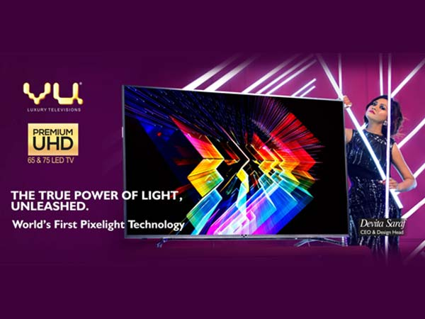 Vu Launches Limited Edition Premium UHD TVs and The Curve TV