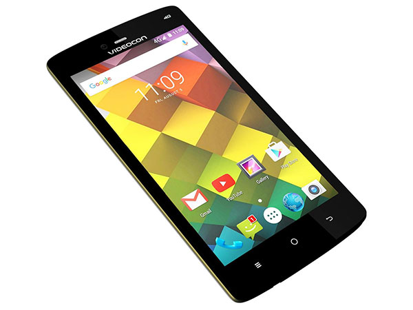 Videocon Cube 3 with Panic Button Launched at Rs. 8,490
