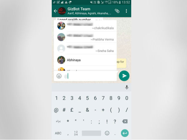 How to Use Whatsapp 'Mention': 5 Important Terms and Conditions