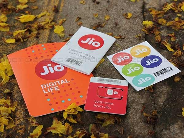 Jio SIM is activated, but there's 2 GB cap on data limit
