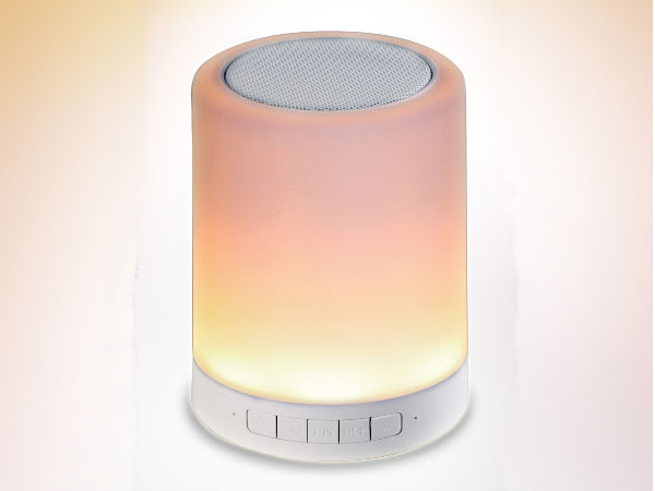 Ambrane India Launches BT-6000 Touch lamp Speakers at Rs. 1,999