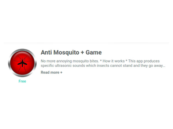 5 Mosquito Repellent Apps that Can Save you