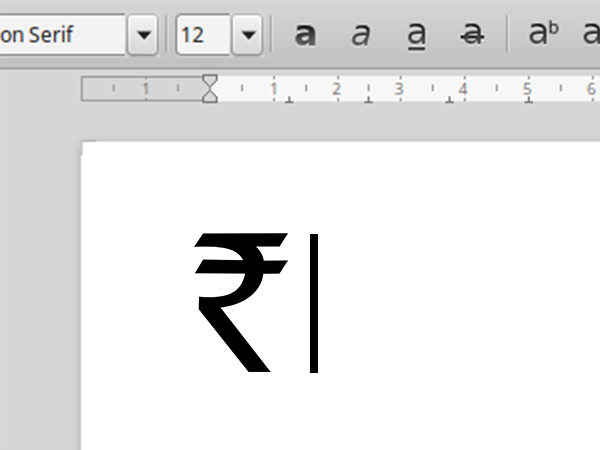 5 Quick Tips to Type Indian Rupee Symbol [ ₹ ] in MS Word