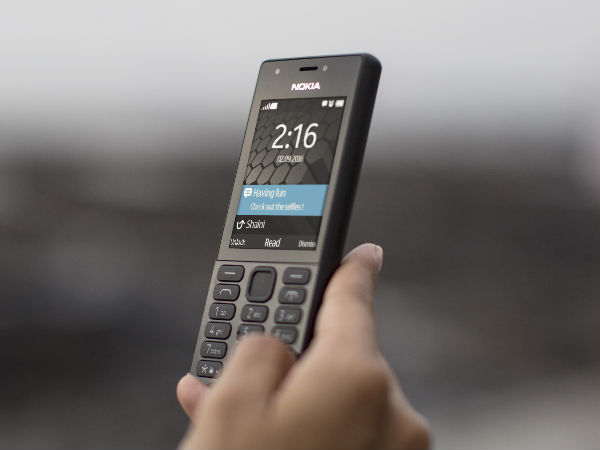 Click Selfie with Flash on Nokia 216 Dual SIM Feature Phone Launched