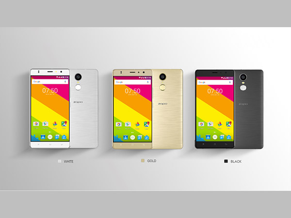 ZOPO Color F1 with Fingerprint Scanner Launched in India at Rs. 8,890