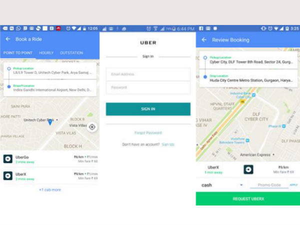 Now Its Possible to Book Uber from Yatra App