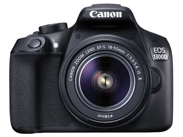 Canon EOS 1300D 18MP Digital SLR Camera (Black)