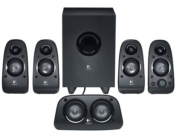 Logitech Z506 Surround Sound 5.1 multimedia Speakers (Black)