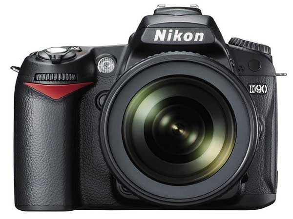 Nikon D90 12.3MP Digital SLR Camera (Black)
