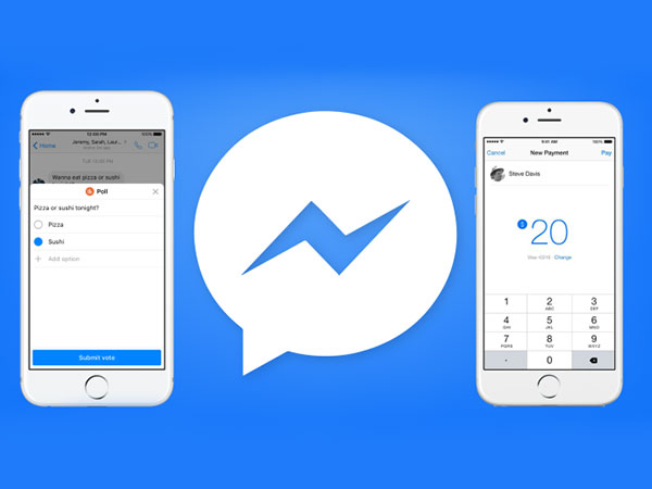 Facebook Messenger Gets Polls Features