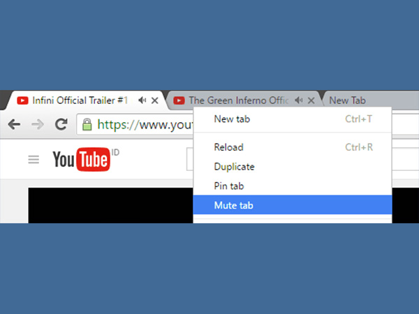 1. Mute Tabs with one click
