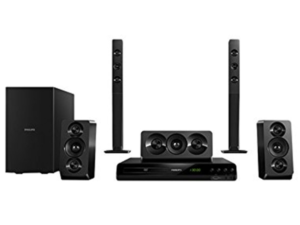 Philips HTD5550/94 Home theater (Black)