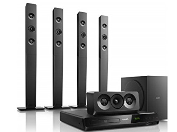Philips HTD5580/94 Home theater (Black)
