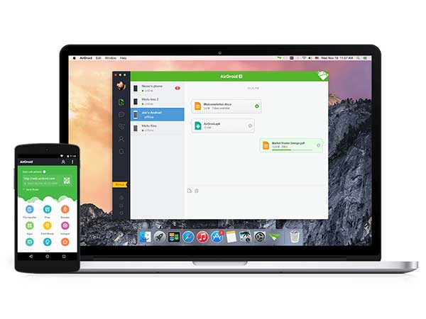 Operate Your Phone with AirDroid