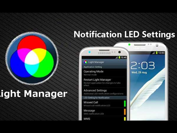 Light Manager – LED Settings