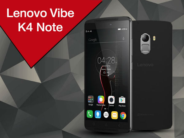 Offer: 8% off on Lenovo Vibe K4 Note