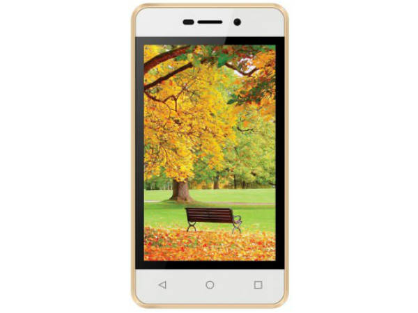 Offer: 36% off on Intex Aqua 4G Strong (Champagne, 8GB)