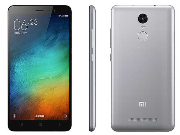 Flat Rs. 500 off on Xiaomi Redmi 3S, Redmi 3S Prime, and Redmi Note 3