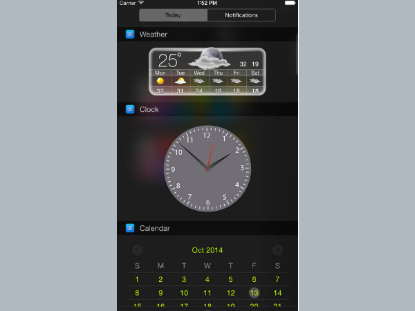 Widget - Add Custom Widgets to Notification Center
