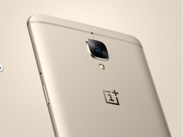 Grab OnePlus 3 Soft Gold at Re. 1