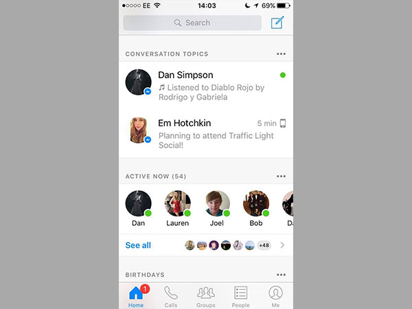 Facebook Messenger Update to Bring 'Conversation Topics' Feature