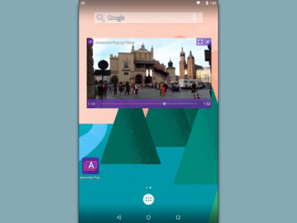 Method 3. Download Awesome Pop-up Video App on Android Smartphone