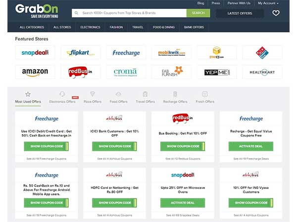 Using GrabOn May Help You Shop Smarter