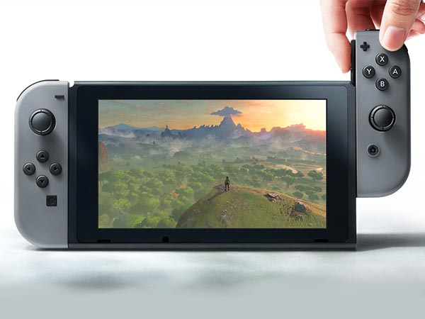 High Definition Display and detachable Joy-Con controllers