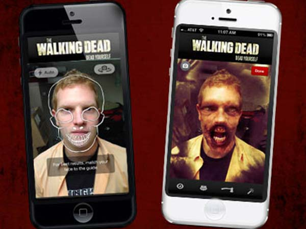 The Walking Dead: Dead Yourself App