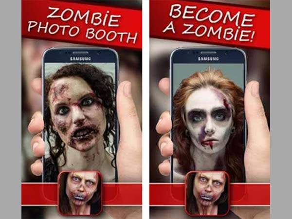 Zombie Camera Effects App