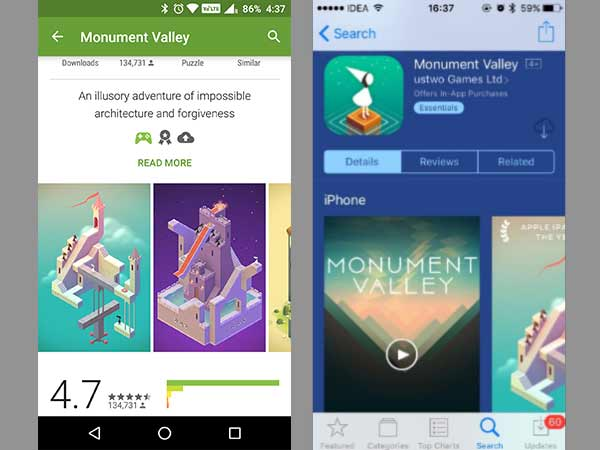 Explore a surreal world with Monument Valley