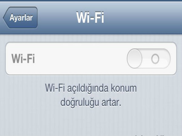 4. Turn Off WiFi When Not in Use
