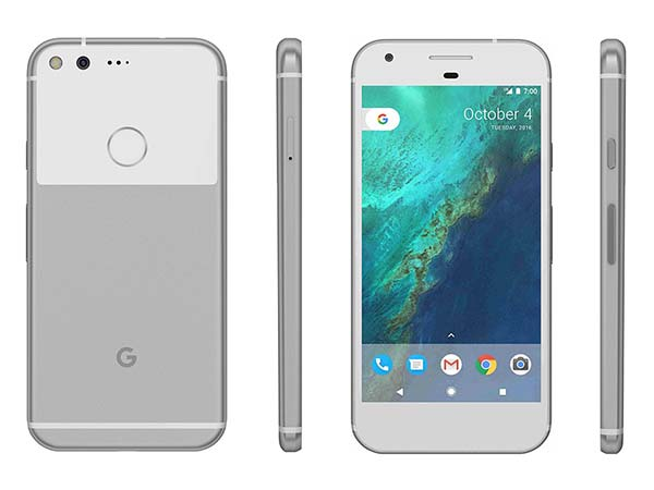 Google Pixel - Very Silver (32 GB)