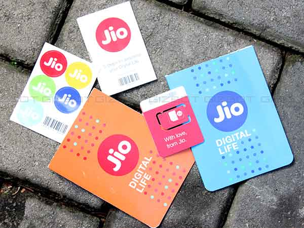 Jio Base Tariff for the home circle