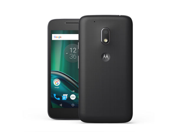 Motorola Moto G4 Play 4th Gen (Black)