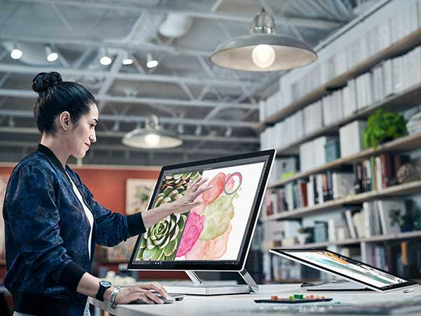 Create Digital Art in an all new way with Surface Studio