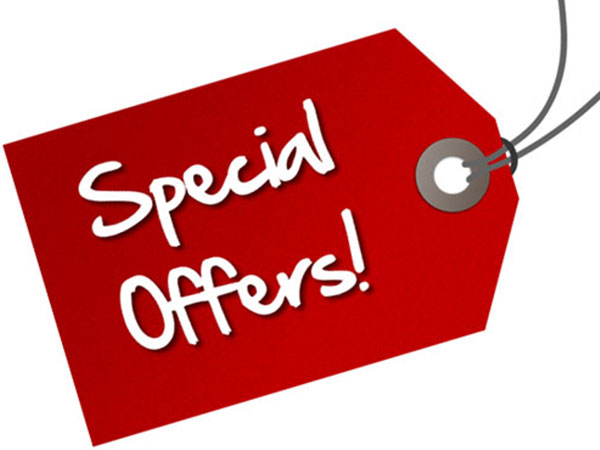 Check on the Special Offers Section Availability