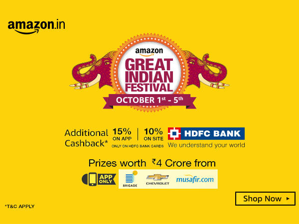 Amazon Great Indian Festive Sale: Blockbuster Deals on Apple iPhone 6s