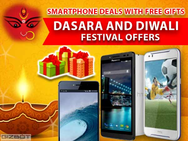 Get Free Gifts on Smartphones This Dasara and Diwali Season!