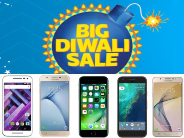 Top Great Diwali Offers on Best Smartphones