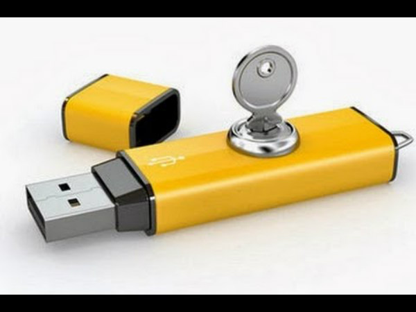 4 Steps to Protect USB Pen drive With Password Without using Any App