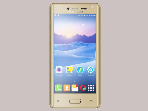 Videocon Ultra50 Flagship Smartphone with Curved Bezel Display