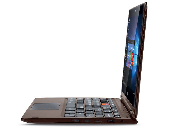 iBall CompBook Flip-X5 Touch Screen Laptop Launched at Rs. 14,999
