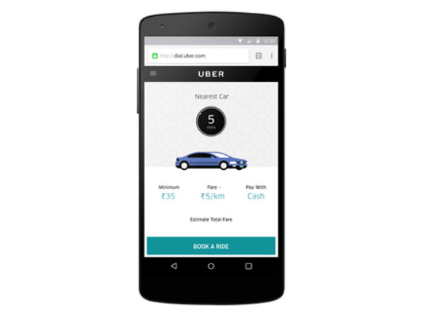 5 easy steps to book an Uber without installing the app