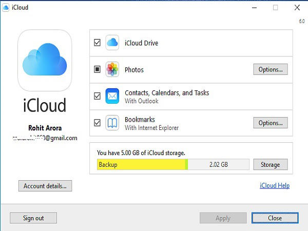 how to put icloud drive on desktop
