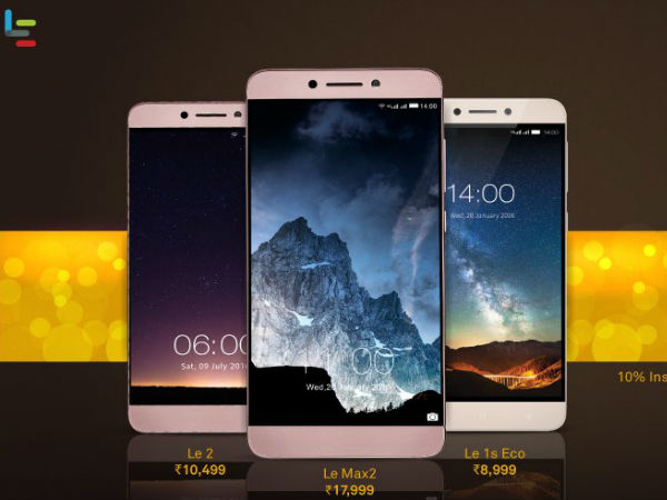 LeEco Sets a New Record for Over Rs  200 Crore Sales in its First