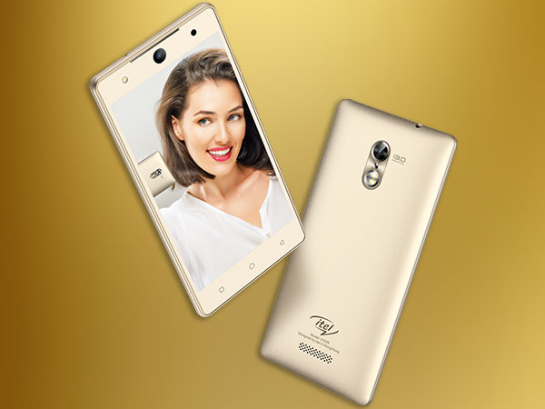 Selfie pro itel it1520: Cheapest smartphone to feature an Iris Scanner