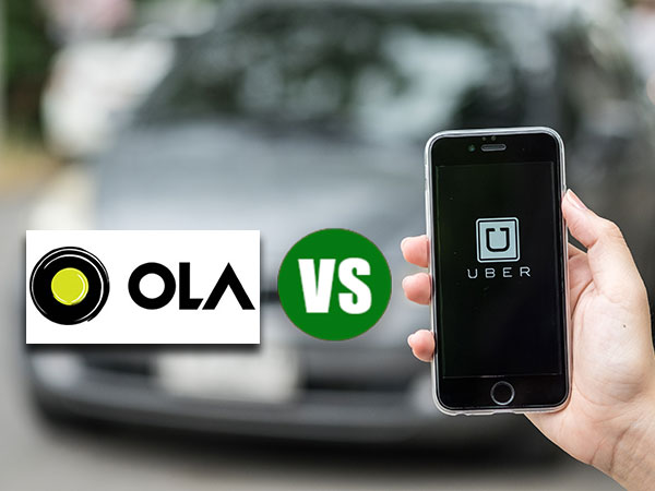 Compare Uber and Ola Fare Estimates Effortlessly