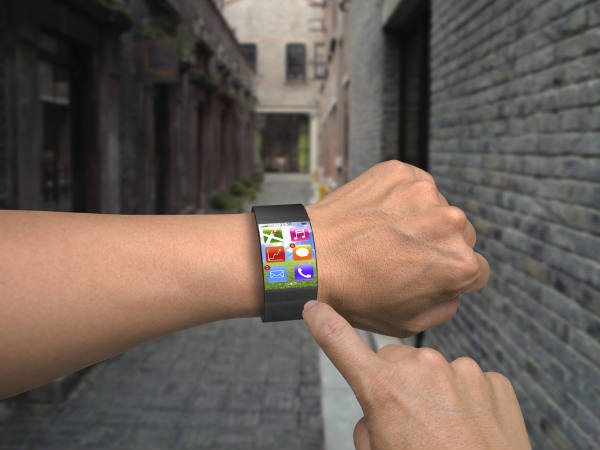 Smartwatch prototype to use wrist as joystick