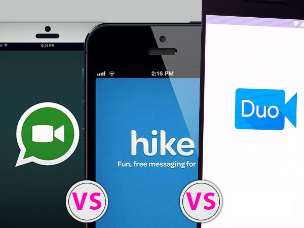 5 Reasons Why WhatsApp, Hike Messenger Could Beat Google Duo